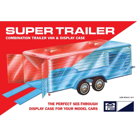 1/25 Display Case Trailer