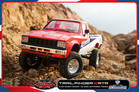 1/10 Trail Finder 2 RTR w/Mojave II Body (BF Goodrich 150th Anniversary Edition)