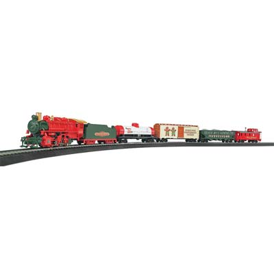 HO Jingle Bell Express Train Set