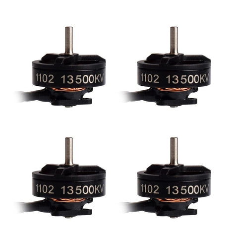 1102 13500KV Brushless Motors (4pcs)