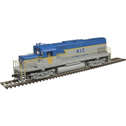 Atlas 420 Phase I w/DCC & Sound, D&H #410 HO Locomotive