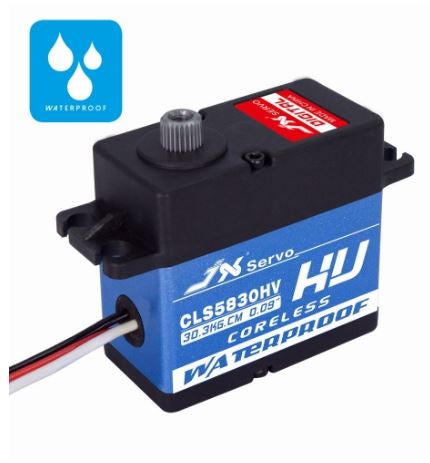 CLS5830HV 30KG Full Waterproof HV Coreless Servo