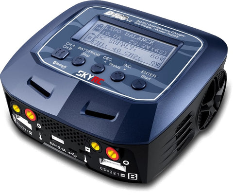 D100 V2 Battery Charger, AC/DC, 10A, 100W