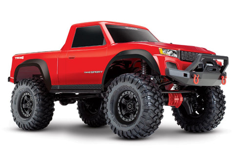 TRX-4 Sport 1/10 Scale 4X4 Trail Truck - Red