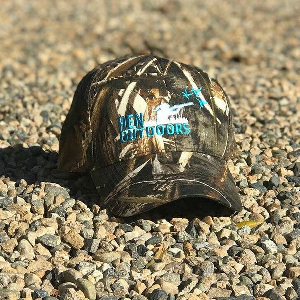 Camo Hen Outdoors Hat