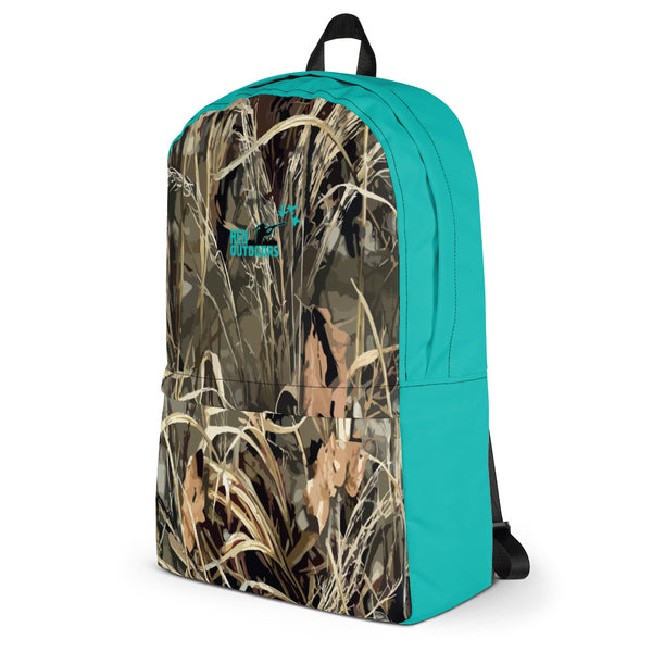 Camo & Tiff Blue Backpack