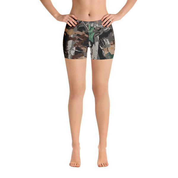 Forest Camo Shorts