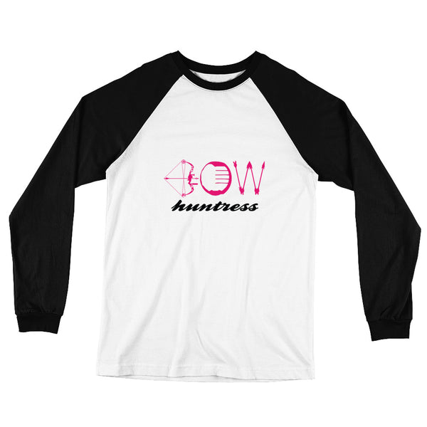 Bow Huntress Baseball Tee