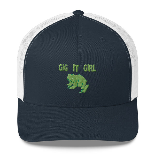 Gig It Girl Trucker Cap