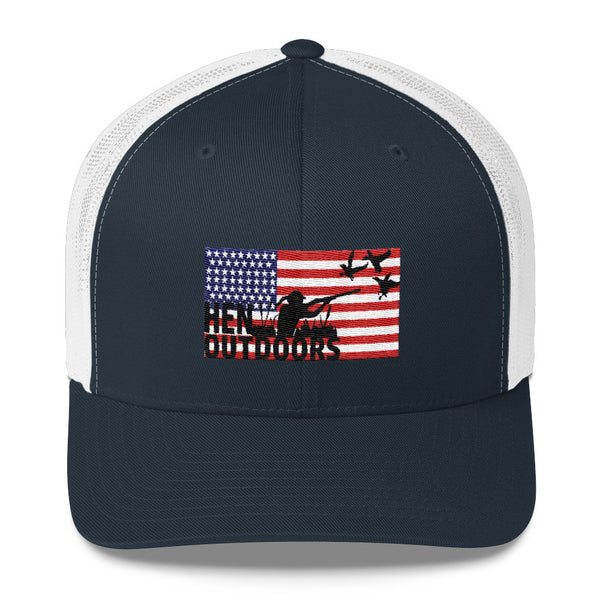 Flag Logo Trucker Cap