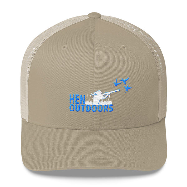 Hen Outdoors Logo Trucker Cap