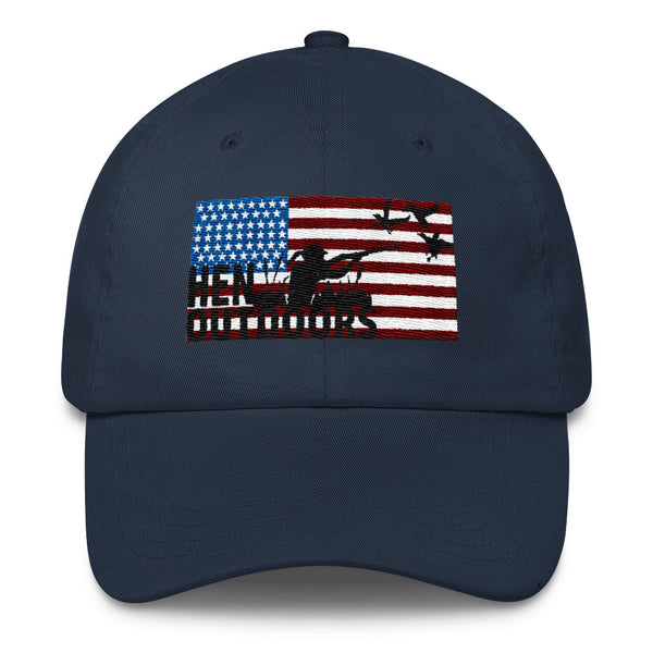 USA Waterfowl Logo Baseball Hat