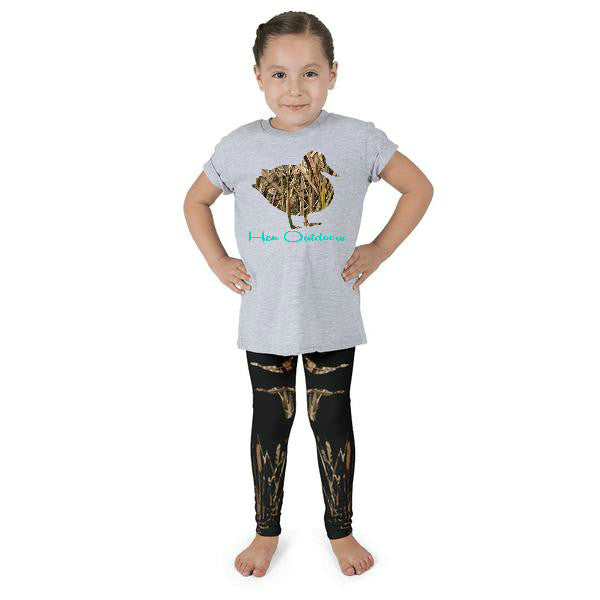 Little Girls Waterfowl Leggings