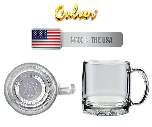 Win a Culver Set of 4 MUG AMERICA GLASS MUGS, a $38 value!