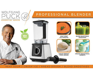 Win a Wolfgang Puck Commercial Blender, 68 Ounce BPA-Free Jar, 10-Speed 2.5 Peak Horsepower, a $184.99 value!
