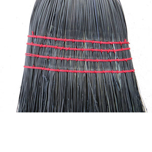 Authentic Hand Made Amish All Broomcorn Broom (Medium BLACK) - LaPrima Shops ®