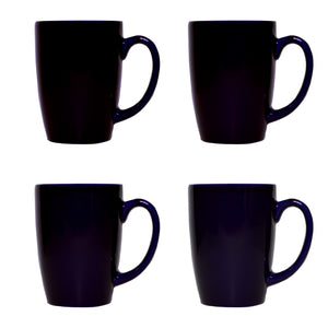 Culver Taza Ceramic Mug 16-Ounce Set of 4 (Blue) - LaPrima Shops ®