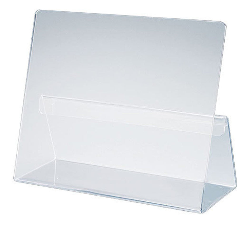 Classic Cookbook Holder - Simple Elegant Clear Acrylic - Made in the USA - LaPrima Shops ®