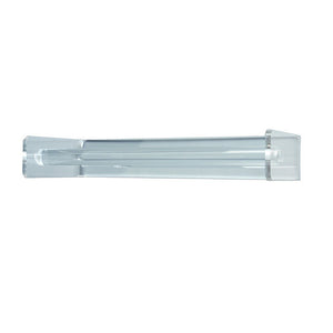 Paper Towel Holder - Simple Elegant Clear Acrylic - Made in the USA - LaPrima Shops ®