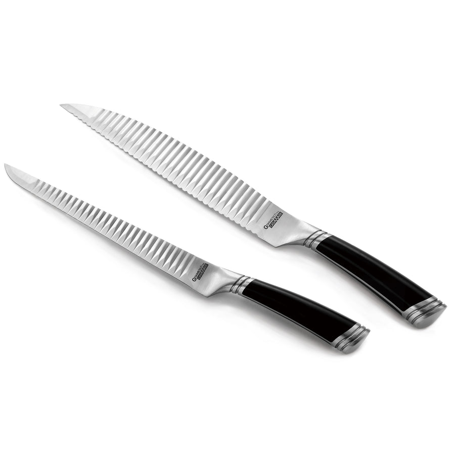 casaWare Cutlery 2-Piece Carving Set (9-Inch Carving and 9-Inch Serrated Bread) - LaPrima Shops ®