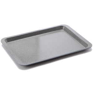 casaWare Ceramic Coated NonStick Cookie/Jelly Roll Pan (10 X 14-Inch, Silver Granite) - LaPrima Shops ®