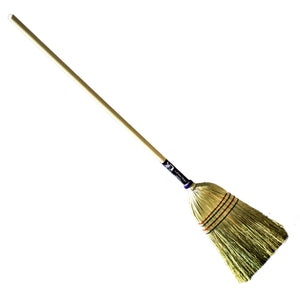 Authentic Hand Made All Broomcorn Broom (Medium) - LaPrima Shops ®
