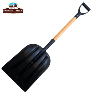 Forest Hill Manufacturing General Purpose Poly Gardener Scoop Shovel (Black Poly, 48-Inch) - LaPrima Shops ®