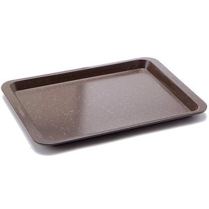 casaWare Ceramic Coated NonStick Cookie/Jelly Roll Pan (10 X 14-Inch, Brown Granite) - LaPrima Shops ®