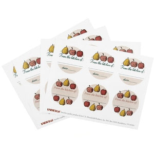 Label-eze Fruit Canning Label, Set of 24
