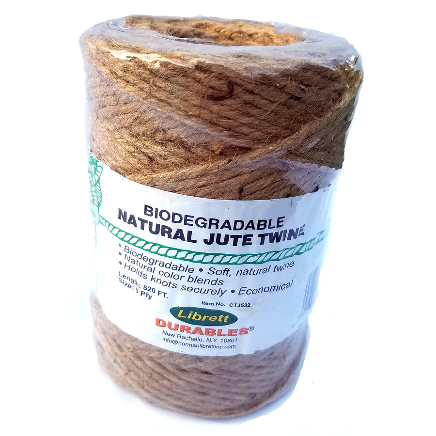 Librett Natural Jute Twine 5 Ply X 520ft