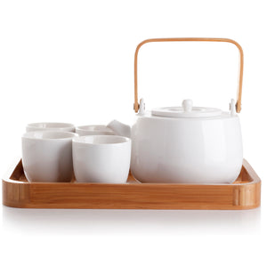 casaWare Serenity 7-Piece Tea Pot Set - LaPrima Shops ®