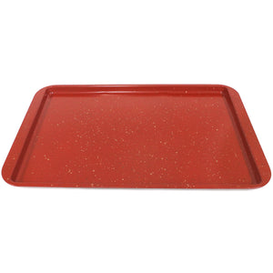 "CasaWare Ceramic Coated NonStick Cookie/Jelly Roll Pan 11""x17"" (Red Granite) - LaPrima Shops ®"