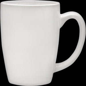 Culver Taza Ceramic Mug 16-Ounce Set of 4 (White) - LaPrima Shops ®
