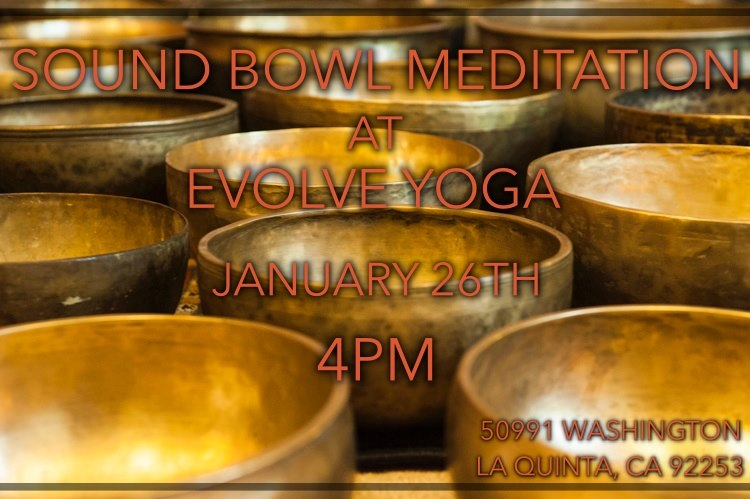Sound Bath this Sunday Jan. 26th at 4pm