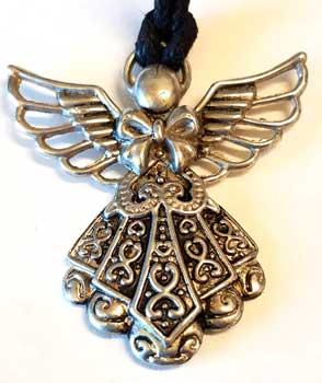 Angel With Bow Amulet
