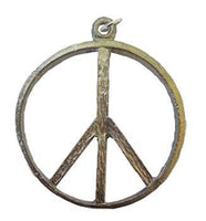 "1 3-4"" Peace Sign Amulet"