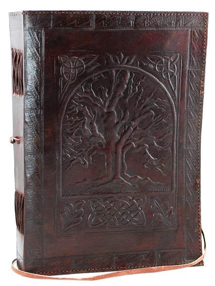 Tree Of Life Leather W- Cord