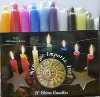 "1-2"" Mixed Chime Candle 20pk"