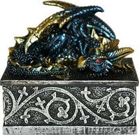 "2 1-2"" X 3"" Dragon Box - Lady Adrienne's Cauldron"