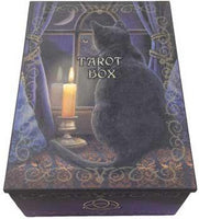 "4"" X 5 1-2"" Black Cat Tarot Box"