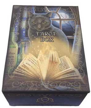 "5 1-2 "" X 4"" Bewitched Tarot Box"