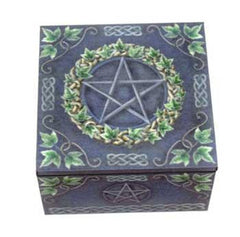 Boxes - Tarot Chest Decorative & Pewter