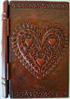 "4"" X 6"" Heart Book Box"