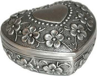 "2"" Heart Pewter - Lady Adrienne's Cauldron - 2"