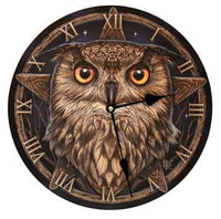 "Owl Clock 11 1-2"" - Lady Adrienne's Cauldron - 2"