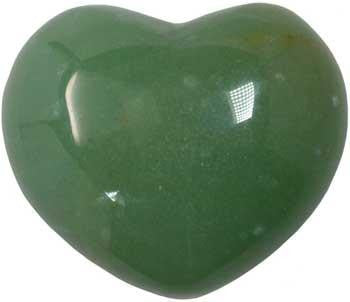"1 3-4"" Aventurine, Green Heart - Lady Adrienne's Cauldron - 2"