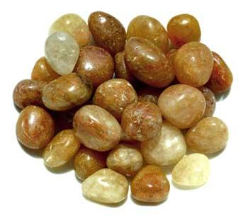 1 Lb Topaz, Natural Tumbled Stones