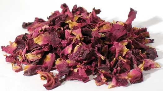 1 Lb Red Rose Buds & Petals