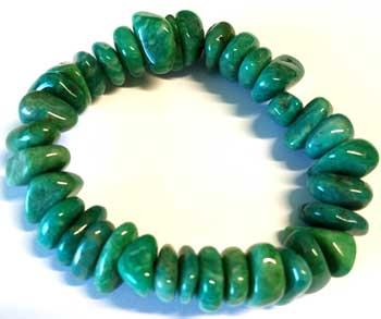 Amazonite Gemstone Bracelet Stretch