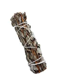 "4"" White Sage & Lavender Smudge Stick"